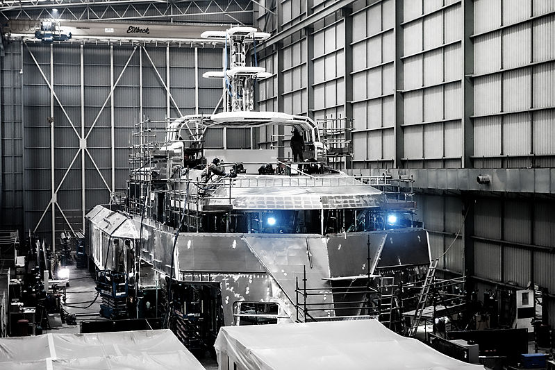 SilverYachts shipyard facility in Henderson