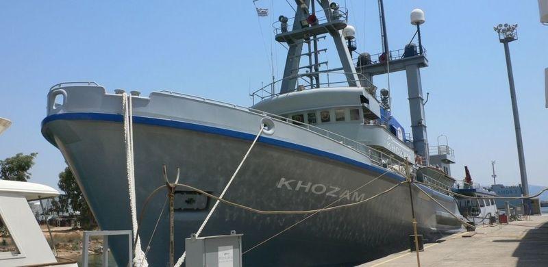 KHOZAM yacht Schichau Unterweser AG