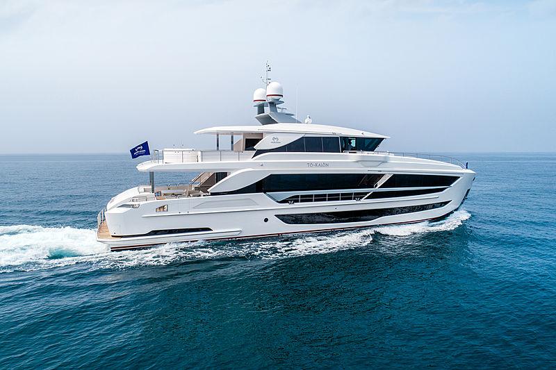 Horizon  FD102/02 To-Kalon yacht exterior
