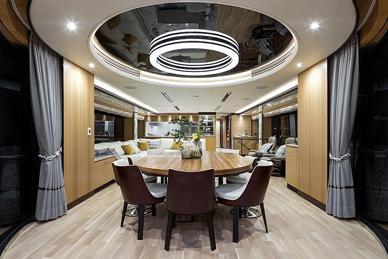 Horizon  FD102/02 To-Kalon yacht interior
