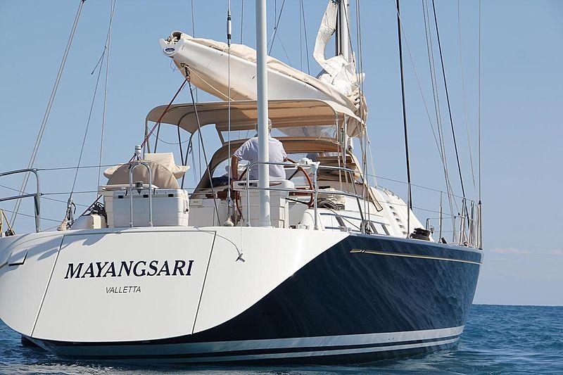 Mayangsari yacht exterior