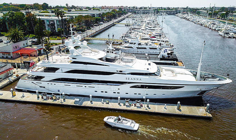 Seanna yacht by Benetti in Los Angeles