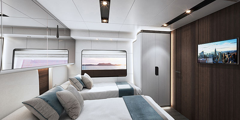 Astondoa AS8 yacht interior