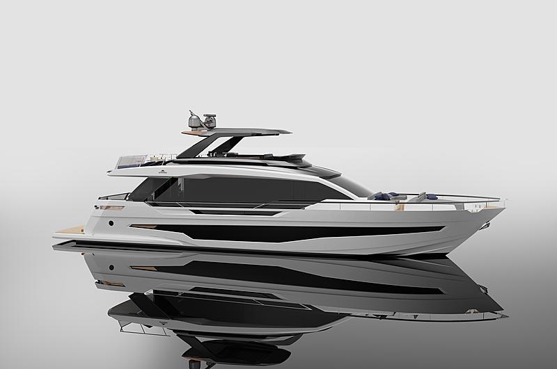Astondoa AS8 yacht exterior
