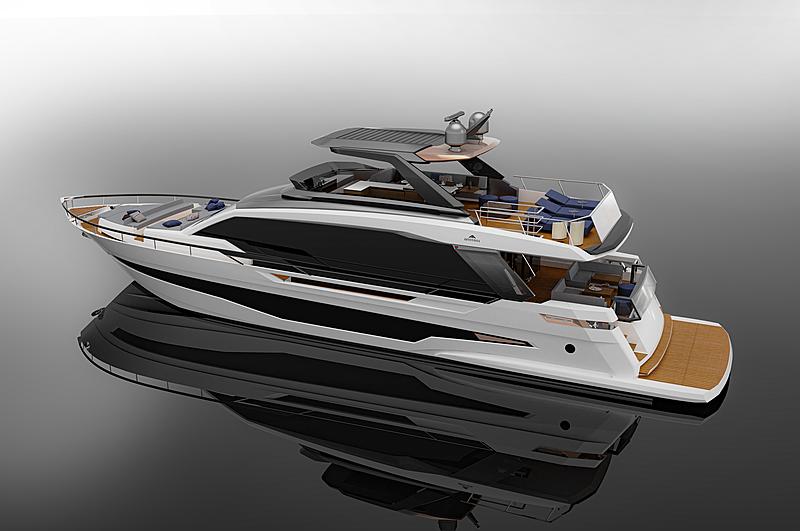 Astondoa AS8 yacht exterior design