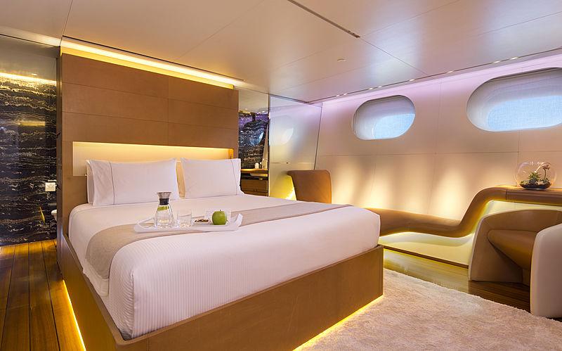Panthalassa yacht stateroom