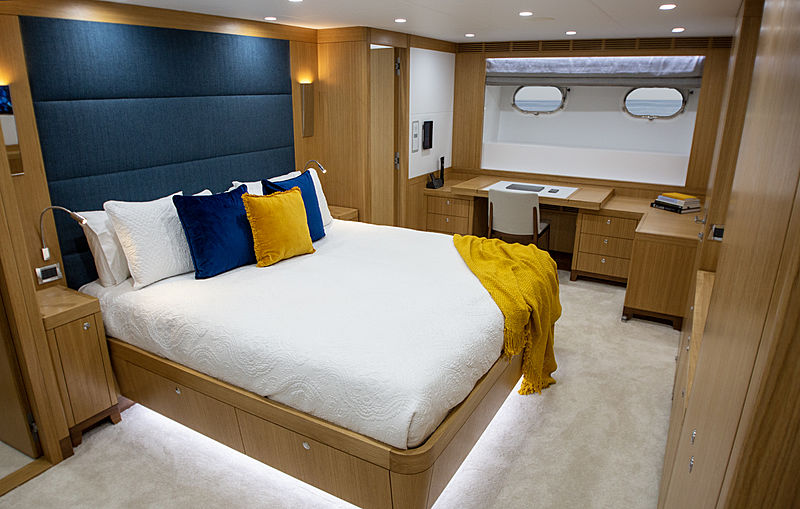 Al Duhail yacht stateroom