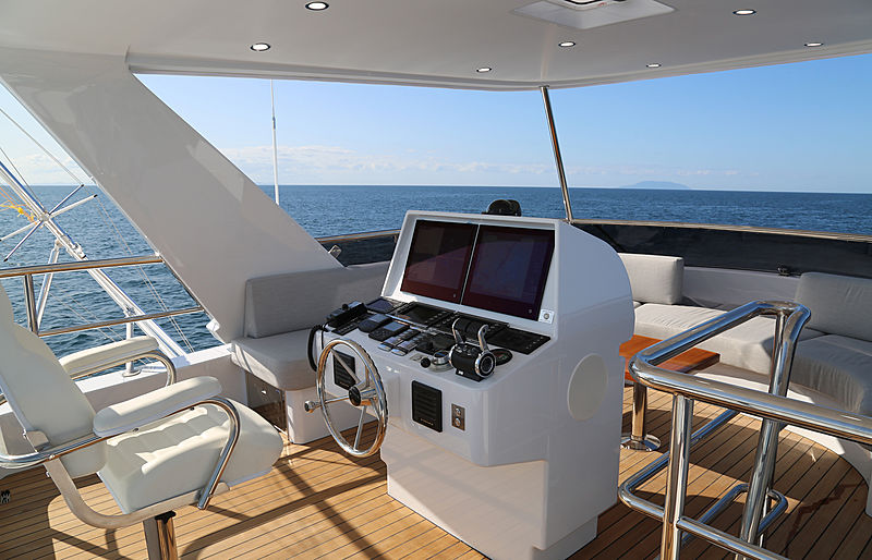 Al Duhail yacht sundeck
