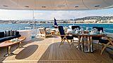 Enchantress yacht aft deck