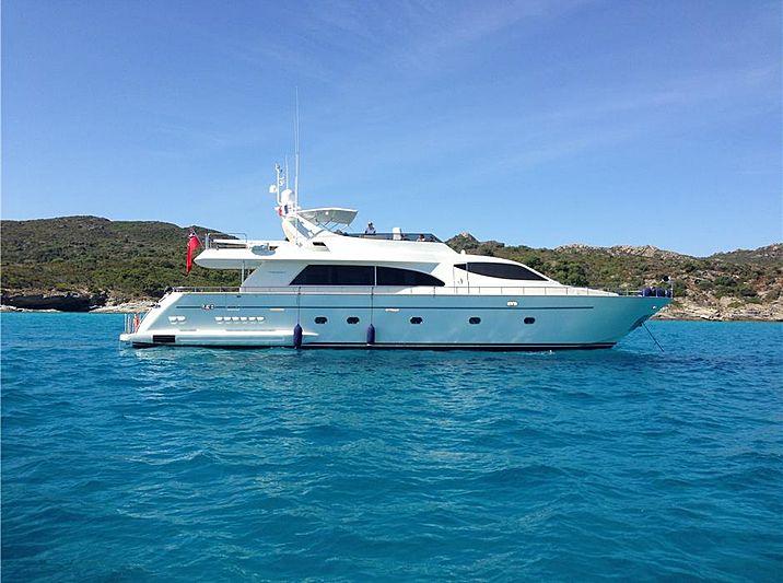 Falcon 86 yacht Lalouise