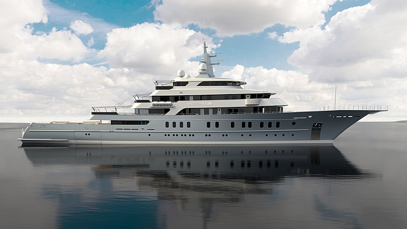 Victorious yacht exterior design