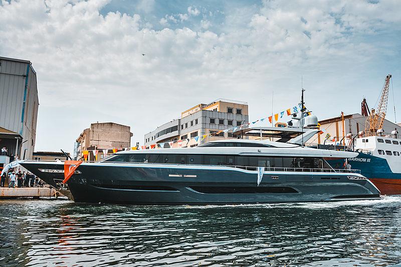 Seastar yacht launch at Mengi-Yay