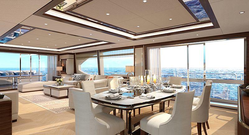 Heysea Asteria 108/10 yacht rendering