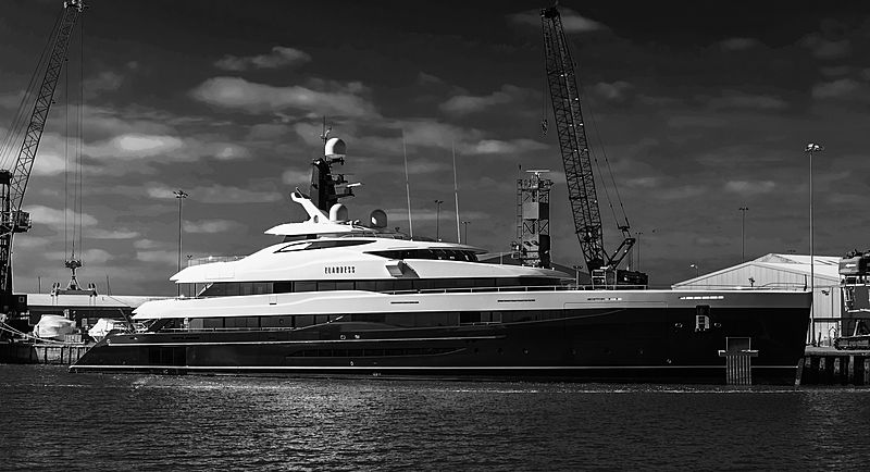 Elandess yacht by Abeking & Rasmussen in Poole