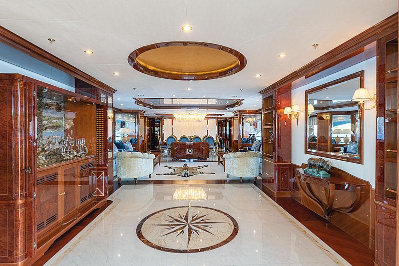 Karianna yacht interior