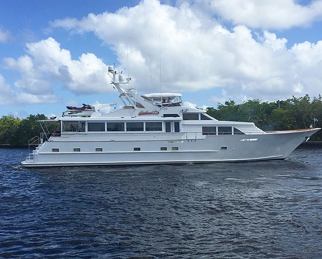 Northern V's yacht by Broward Marine