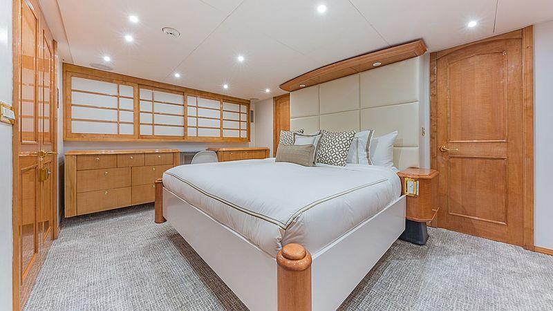 Rogue yacht interior