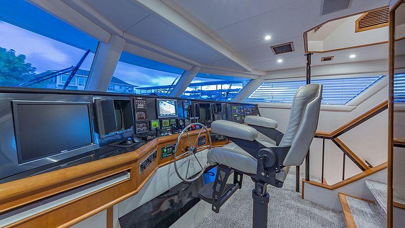 Rogue yacht wheelhouse