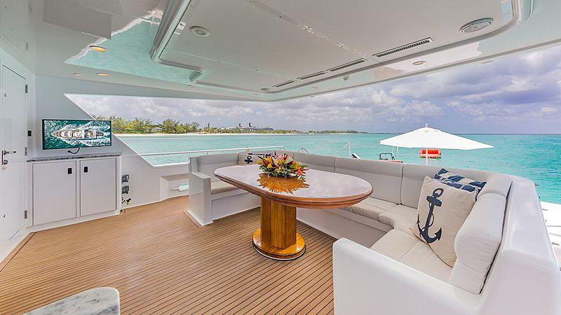 Rogue yacht deck