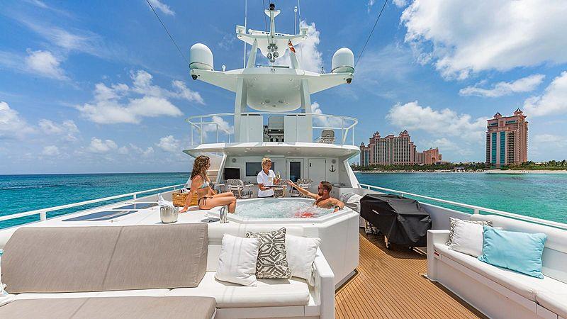 Rogue yacht sundeck