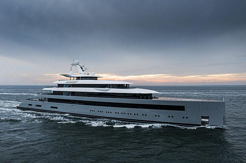 Moonrise yacht off Den Helder