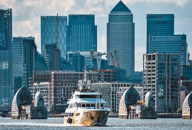Jade 959 yacht in London