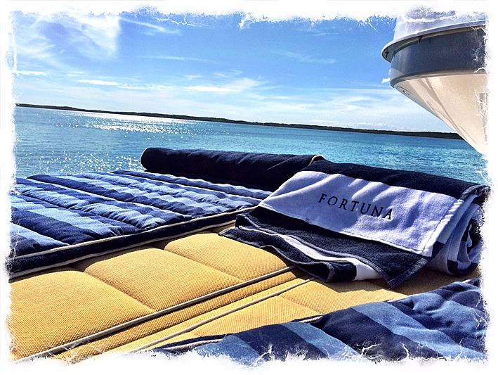 Fortuna yacht deck