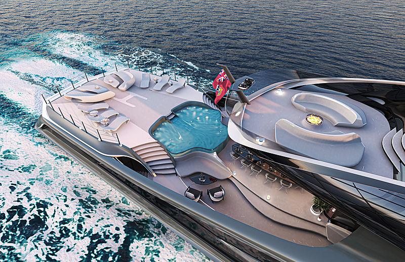 66m Futura yacht concept by Vripack