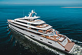 Moonrise yacht by Feadship on sea trials