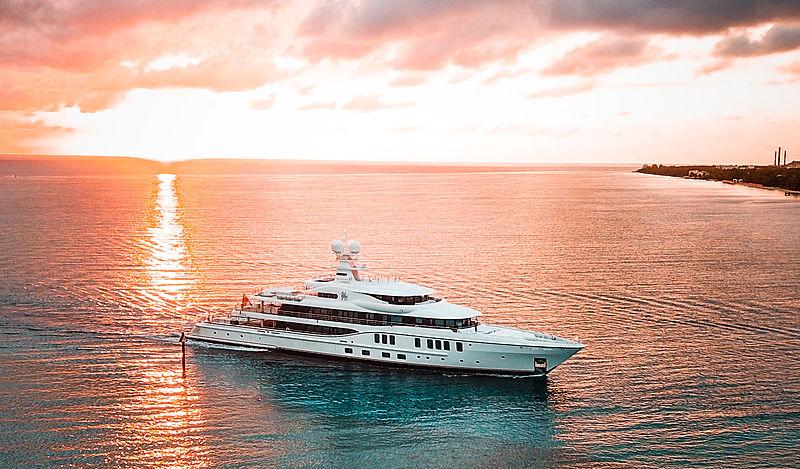 Sixth Sense yacht by Amels in Albany, Bahamas