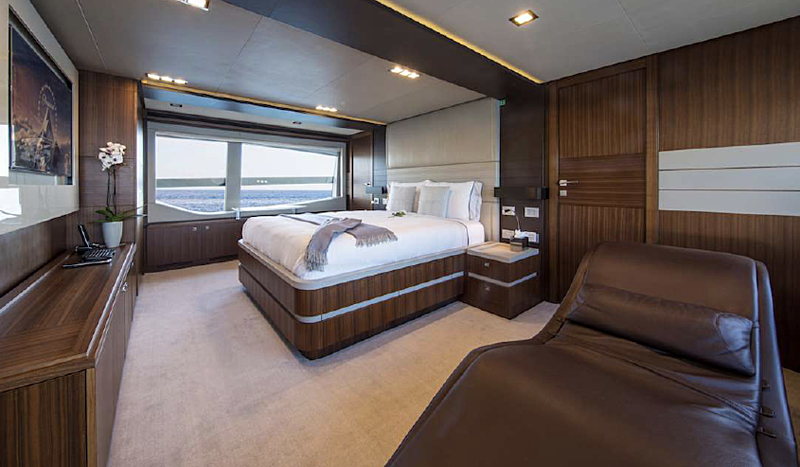 Campo Verde yacht stateroom