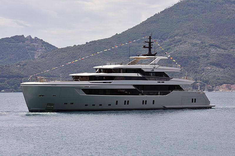 44 Alloy yacht H1 launch in La Spezia