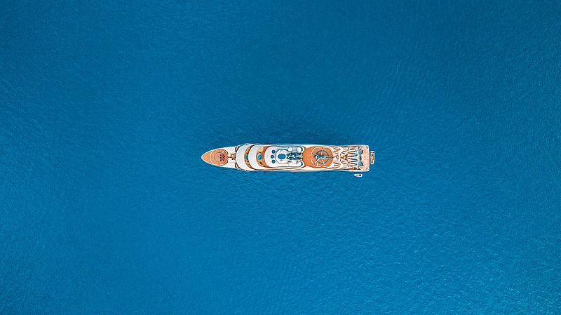 Flying Fox yacht by Lürssen in Maldives