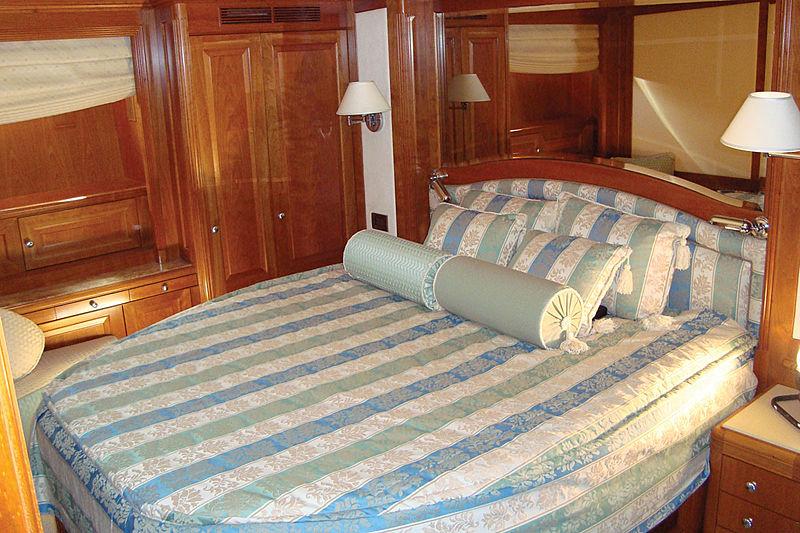 Vera IV yacht interior