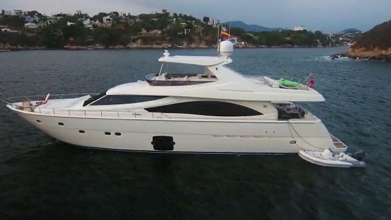 RICACHA  yacht Ferretti Yachts