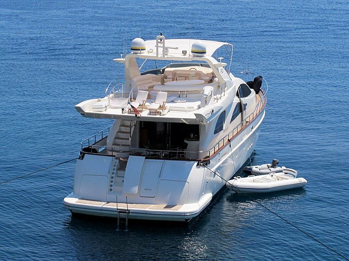 NOMM yacht Azimut