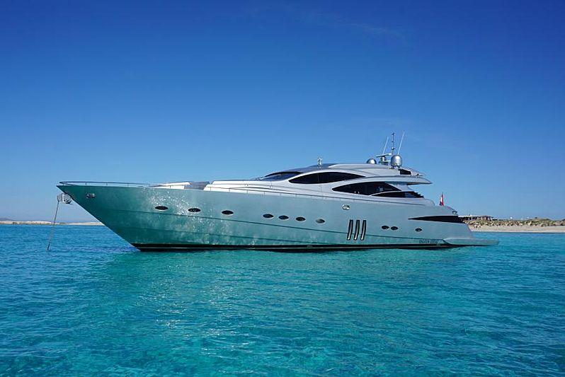 Pershing 90 yacht Sensation
