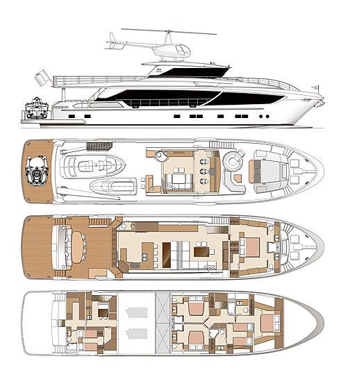 Horizon CC98 yacht GA