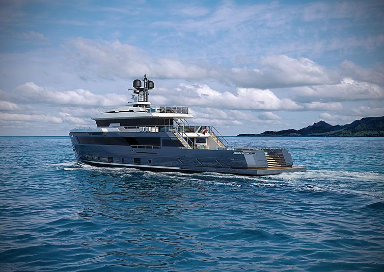 Aurelia 29 yacht exterior design