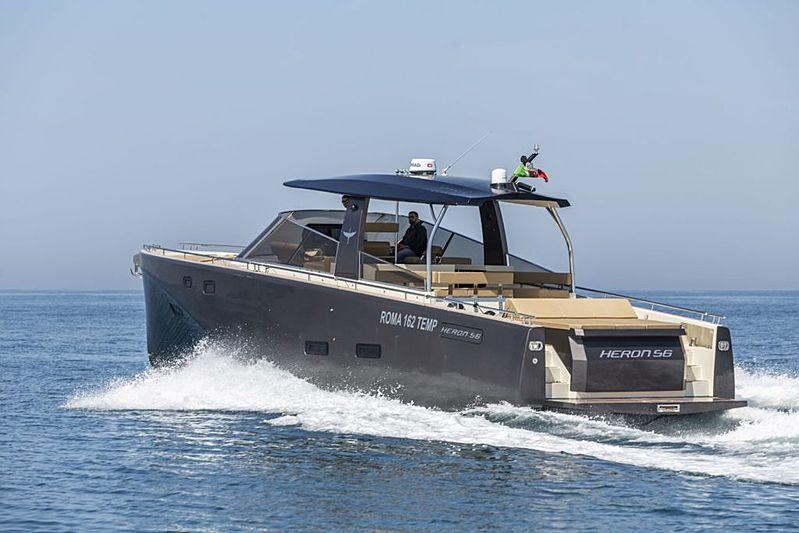 HERON 56 tender Heron Yacht