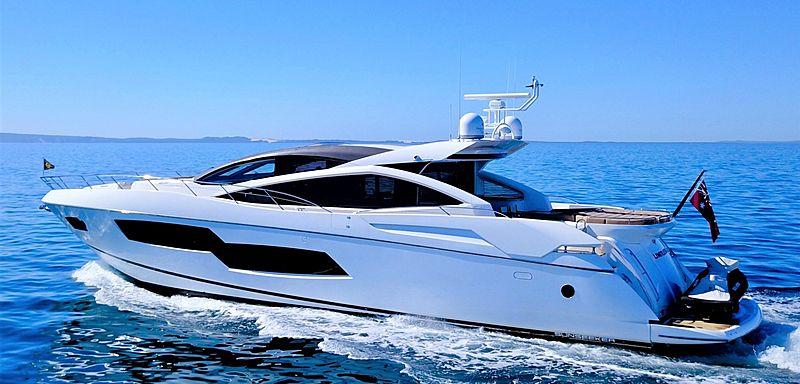 LIMITLESS yacht Sunseeker