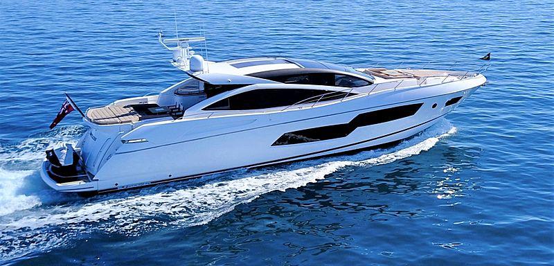Limitless yacht cruising