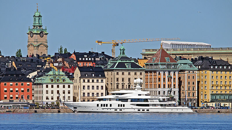 New Secret yacht by Amels in Stockholm