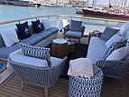 My Flower yacht aft deck