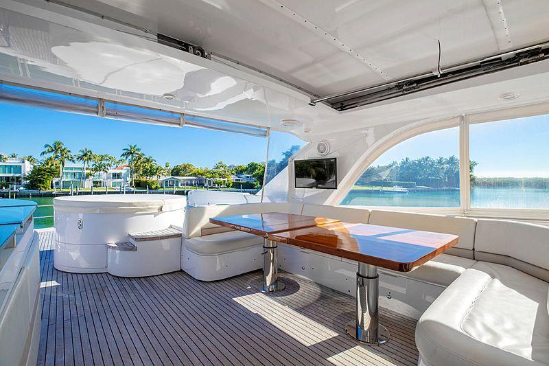 Stephanie yacht interior