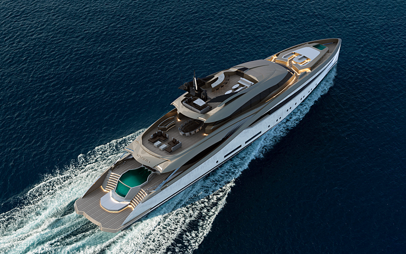 Alfa Marine Kentaurus yacht concept
