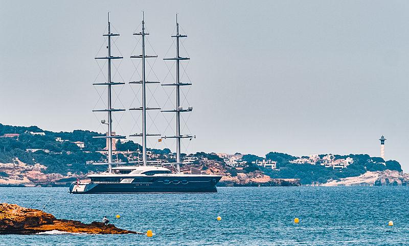 Black Pearl yacht by Oceanco in Tarragona
