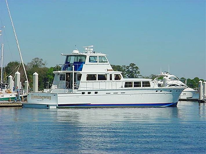 Hemingway yacht by Huckins