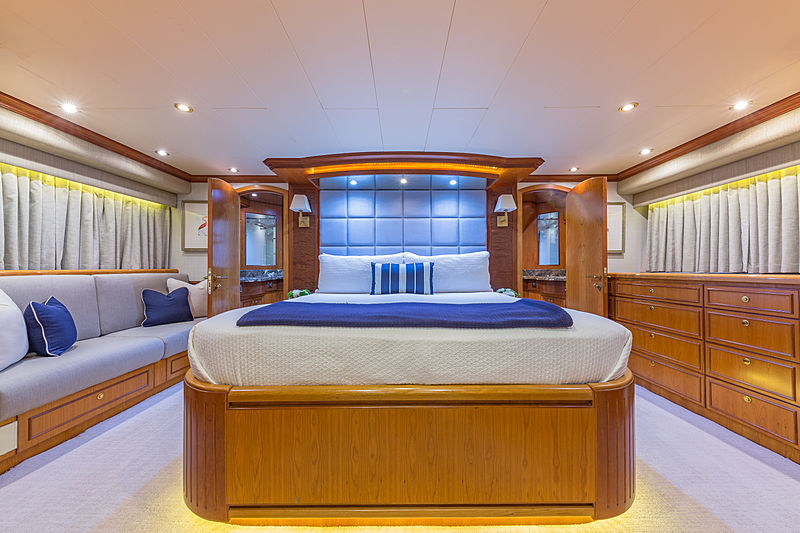 Inevitable yacht stateroom