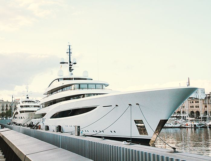 Faith yacht by Feadship in Barcelona